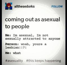 Coming out to people sometimes looks like this.