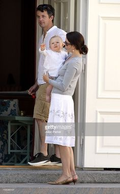 Crown Prince Frederik, Crown Princess Mary & Prince Christian Of. News Photo - Getty Images Denmark Royal Family, Danish Royal Family, Prince Christian Of Denmark, Danish Royals, Crown Princess Mary, Still Image, Couple Photos, Kids, 4 August