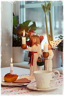 Santa Lucia...lovely Swedish language blog