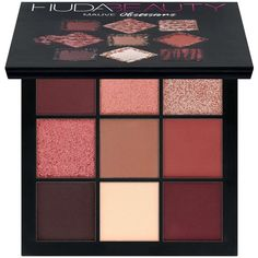 Obsessions Eyeshadow Palette Huda Beauty (€22) ❤ liked on Polyvore featuring beauty products, makeup, eye makeup, eyeshadow, beauty, fillers, palette eyeshadow, huda beauty and huda beauty eyeshadow