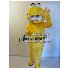 Kedi Garfiel Maskot kostüm Siparişleriniz için web sayfamızdan ayrıntılı bilgilere ulaşabilirsiniz.Robot Adam Online Satış Maskot Kostüm