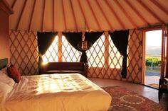 Cave B Inn yurt interior