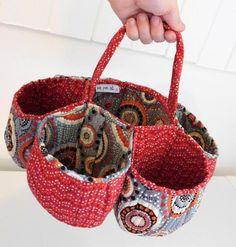 Honeycomb Basket | Craftsy