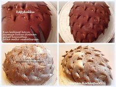 Marian Herkkupuoti: Käpykakku Muffin, Food And Drink, Breakfast, Morning Coffee, Muffins, Cupcakes