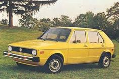 4 door! yes!  My first car!!  I loved that VW Rabbit.