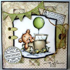 Nixe-Moni : Happy Birthday ... Everybody-Art-Challenge #144