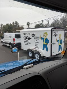 Awesome van and trailer! [Fallout]