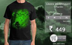 Green moonlight