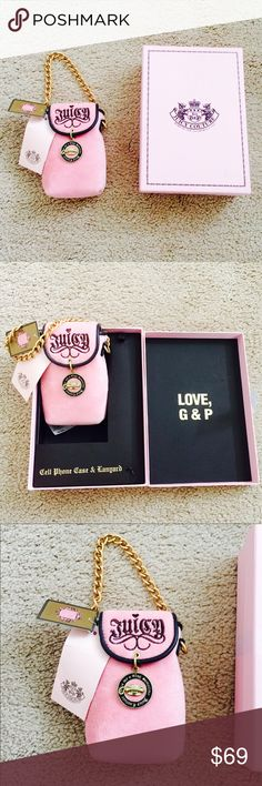 ❗️Juicy Couture Bag/ Case w/ Original Box NWT $75 ❗️Juicy Couture Authentic Bag/ Phone case with original box. NWT retails $75. Feel free to make an offer! I'm giving to the first reasonable offer I receive & give great bundle deals! Moving Clearout Sale--all must go! ;-) Juicy Couture Bags