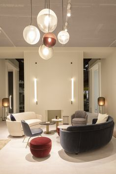 Sebastian Herkner, European Furniture, Humble Abode, Contemporary, Modern, Sofas, Furniture Design, Things To Come, Ceiling Lights