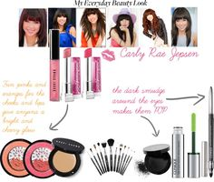 """carly rae jepsen bright and cheery everyday look"" by lax07 ❤ liked on Polyvore"