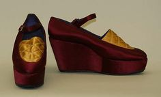 Shoes, early 1970s