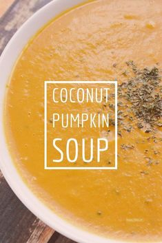 Coconut Pumpkin Soup - It's Really Kita - Barbra McGrayle Pumpkin Soup Coconut Milk, Vegan Pumpkin Soup, Canned Coconut Milk, Canned Pumpkin, Pumpkin Recipes, Pumpkin Puree, Pumkin Soup, Apple Recipes, Smoothie Fruit