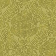 The Wallpaper Company, 56 sq. ft. Green Grandiose Damask Wallpaper, WC1280517 at The Home Depot - Mobile