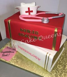 Nursing Cake  #thecakequeens #customcake #nursingcake #igcake #celebrationcake