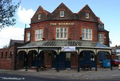 The Mermaid, Copnor, was built to a design by A E Cogswell in 1900 and is little changed inside. Portsmouth Pubs, Portsmouth England, Hampshire, Cities, Buildings, Mermaid, Public, Icons, Houses