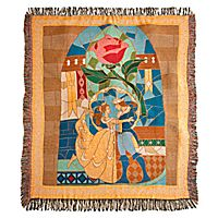 Beauty and the Beast Throw // I want this more than I probably should...