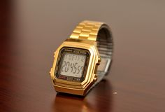 Casio Vintage Gold !