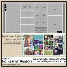Book layout ideas templates digital scrapbooking 17 Ideas for 2019 Photoshop Elements, Adobe Photoshop, Scrapbook Layout Sketches, Scrapbook Templates, Scrapbook Designs, Free Digital Scrapbooking, Scrapbooking Ideas, The Words, Paper Bag Scrapbook