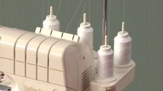 Master how to use a serger before your next project by watching this instructional video and you can use it in more fun and creative ways.
