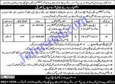 Directorate General Industries Prices Weights & Measures Punjab Jobs 2021 has been announced through the advertisement and applications from the suitable persons are invited on the prescribed application form. In these Latest Government of Punjab Jobs the eligible Male/Female candidates from across the country can apply through the procedure defined by the organization and can ... Read more The post Directorate General Industries Prices Weights & Measures Punjab Jobs 2021 appeared first