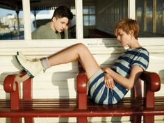 Agyness Deyn hangs up her Dr. Martens and retires from modeling Fashion Line, Cute Fashion, New Fashion, Fashion Styles, Fashion Beauty, Dr. Martens, Miu Miu, Dr Martens Style, Agyness Deyn