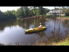 Rickyak first power trial part 10 - YouTube Make A Boat, Trials, Pond, Youtube, Water Pond, Youtubers, Garden Ponds, Youtube Movies