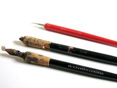 #Vintage #Drafting Pens #art #architecture $10.00, via Etsy.
