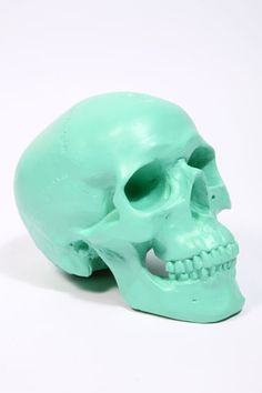 Skull. I want a mini one for my goldfish bowl.