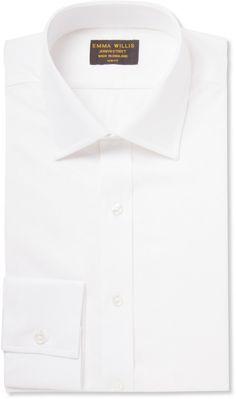 Emma Willis White Organic Cotton-Piqué Shirt sur shopstyle.fr