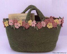 Вязание крючком. Летние сумочки с цветами (15) (584x471, 189Kb)
