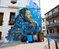 Best Graffiti 2013 & Amazing Street Art - C215