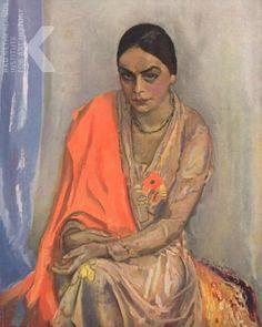 Jan Sluijters - Portret van Emilie (1930)