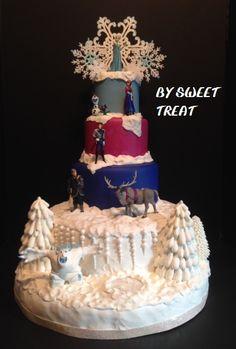 FROZEN FAKE CAKE www.sweettreatusa.com