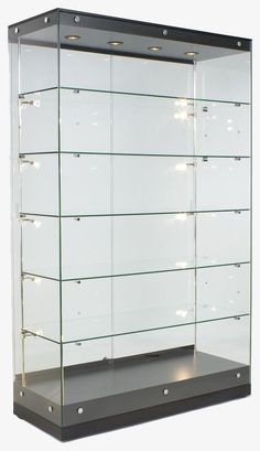 A display case presents the inner-self of the creator. With a look at the display case, you can know the person inside. There are DIY display case ideas. Trophy Display Case, Award Display, Glass Display Case, Display Cases, Lego Display Case, Display Wall, Toy Display, Display Ideas, Glass Door Lock