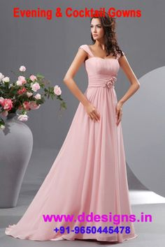 http://ddesigns.in/products/evening-cocktail-gowns-dresses.html  #Evening Cocktail Gown for #Ddesigns