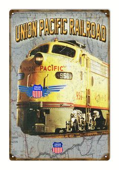 Union Pacific Railroad Metal Sign | eBay