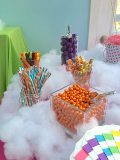 My Little Pony Party candy bar