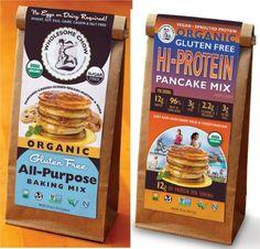 Gluten Free Hi Protein Pancake Mix and All Purpose Baking Mix Bundle of 2  Organic Vegan NonGMO GF Dairy Free -- See this great product.