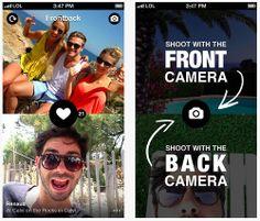 Ahora que están tan de moda las selfies y todo mundo intenta sacar su mejor autorretrato, Frontback es una app que se ha mostrado a la delantera y se cataloga como la mejor para tomar selfies. Su secreto es que usa tanto la cámara frontal como la trasera para recrear momentos únicos. Nos informó #miguelbaigts #guru