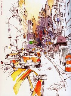 felix scheinberger - urban sketch