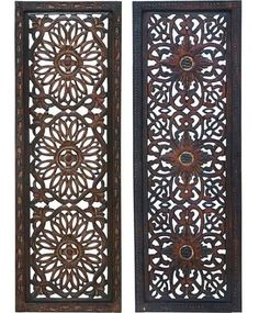 carved balinese panels
