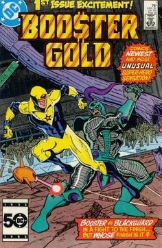 Michael Jon Carter - Booster Gold #1 Comic Book Cover