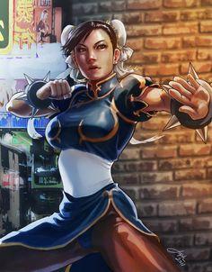 Street Fighter - Chun Li by Jophiel Ray Saura