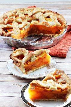 Thick Peach Pie with a crust that stands up and delivers an amazing base! from #DietersDownfall.com