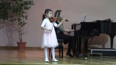 """Vivaldi:Violin concerto in E-major,RV 269 """"Spring"""" ,Ist movement—See more of this young violinist #from_ArabelaZorjan"""