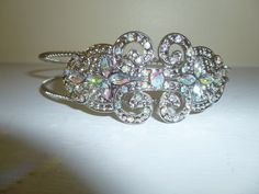 Faux Crystal Crown Headband by TrueColorsBoutique on Etsy, $15.00