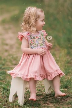 Mimi and Maggie - Serena Baby Dress Spring 2017