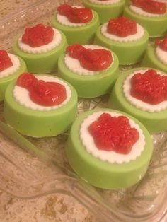 Christmas Candy Coated Oreos