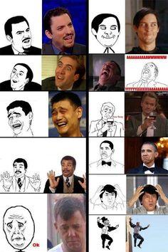 faces of memes :) for daniel
